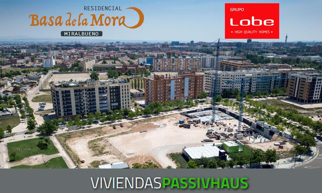 Residencial Basa de la Mora: pisos de obra nueva en Miralbueno